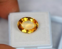 7.60Ct Natural Yellow Citrine Oval Cut Lot LZ368