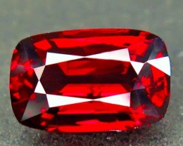 NR! Certified Pigeon's Blood Red 3.00 Ct Mahenge Spinel $4500