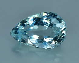 2.19 Cts Wonderful Sparkling Lustrous Natural Aquamarine
