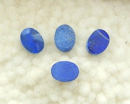 58.5ct 4Pcs  Natural Oval Cut Lapis Lazuli Cabochon (18032203)