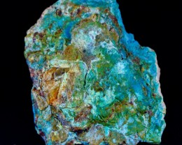 894 Ct Unheated ~ Natural  Superb Green Chrysocolla  Rough