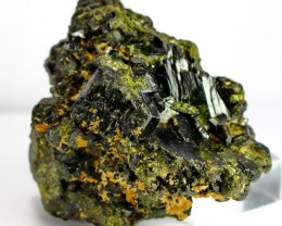 1712 CT Natural - Unheated Green Epidot Specimen