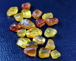 62 CT Natural - Unheated Golden Yellow Chrysoberyl Rough For Facet