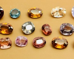 15.60 Crt Natural Multi-Stone Faceted Gemstone (R 155)