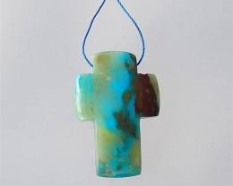 67.5ct Natural Natural Blue Opal  Pendant(18032508)