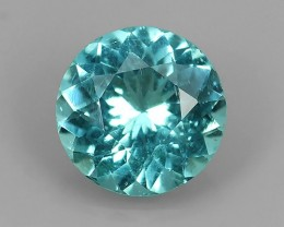 1.25 Ct TOP QUALITY 100% NATURAL GREEN-BLUE APATITE GEMSTONE