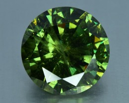 6.47 Cts Beautiful Unusual Rare Natural Demantoid Garnet