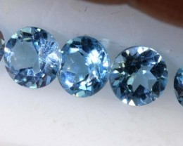 3.05CTS BLUE TOPAZ NATURAL CABS FACETED PARCEL  CG-2405