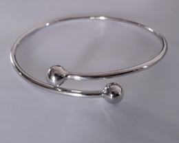 Pure 925 Sterling silver bangle #31834