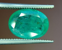 2.70 Crt Natural Zambia Emerald Faceted Gemstone (R 157)