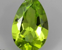2.90 Cts High Best Natural Apple Green pear Pakistan Peridot