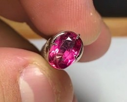 1.20 cts Rubellite Tourmaline - VS Choice Color (Saturated pink, almost red