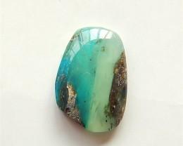 7.9ct Natural Blue Opal Cabochon (18032706)