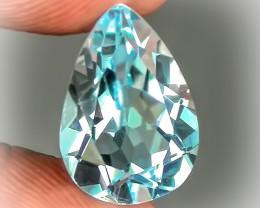 4.57ct Jewellery Grade Sparkling Blue Topaz No Reserve