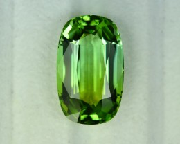 14.67 Cts Marvelous Flawless Perfect Cut Green Tourmaline