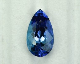 10.36 Cts Fabulous Deep Blue Tanzanite