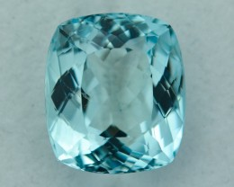 8.39 Cts Beautiful Lustrous  Aquamarine