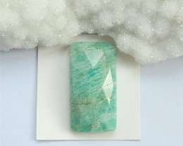 45.4ct Nice Cut Square Amazonite Cabochon (18032820)