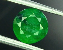 Top Color 0.90 ct Natural Emerald