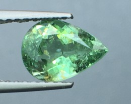 Certified 1.30 Cts Paraiba Tourmaline Attractive Higher Color Mozambique