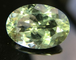10.40 Crt Natural Green Amethyst prasiolite Faceted Gemstone (R 158)