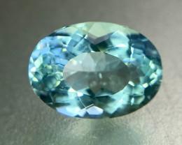 2.0 Crt Natural Aquamarine Faceted Gemstone (R 158)