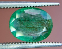 2.40 Crt Natural Zambia Emerald Faceted Gemstone (R 158)