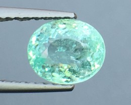 Certified 1.39 Cts Paraiba Tourmaline Attractive Higher Color ~ Mozambique