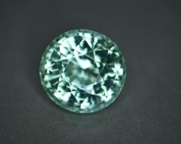 37.79 cts Natural tourmaline Bluish Green certified.