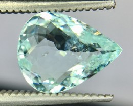 1.61 Crt Gil Certified Paraiba Tourmaline Faceted Gemstone
