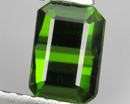 1.00 CTS BEAUTIFUL RARE NATURAL TOP GREEN TOURMALINE MOZAMBIQUE