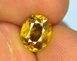 Great Dispersion 1.90 ct Natural Titanite Sphene