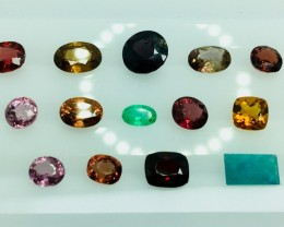 10.55 Crt Natural Multi-Stone Faceted Gemstone (R 159)