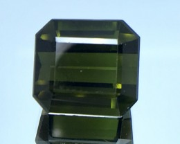 13.70 CT NATURAL GREEN TOURMALINE HIGH QUALITY GEMSTONE S45