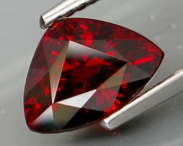 Natural Red Spessartite Garnet - 2.86 ct. - No Reserved Price