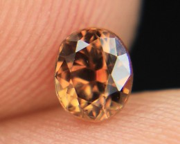 Bi Color Natural Zircon Top Luster Gemstone