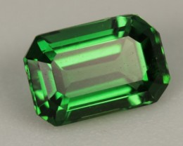 0.595 CT REAL CHROME TOURMALINE - GREAT CUT!  VVS CLARITY!