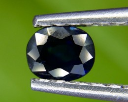 0.68 Crt Natural Unheated Sapphire  Faceted Gemstone (971)