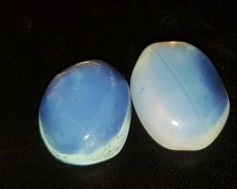 12 Ct Moonstone Matched Pair Blue (Sri Lanka)