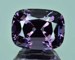 8.63 Cts Wonderful Lustrous Natural Violet Spinel