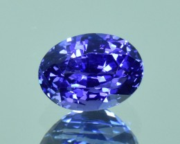 2.55 Cts Wonderful Natural Sri lankan Unheat  Blue Sapphire