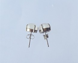 9.9ct Women Earrings, Natural Moon Stone With Sterling 925 Silver Earring S