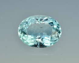 9.07 Cts Wonderful Lustrous Aquamarine
