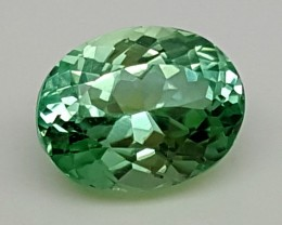 5.35 Cts GREEN SPODUMENE Best Grade Gemstones JI 17