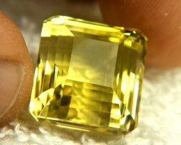 30.4 Carat Vibrant Yellow African VVS Lemon Quartz - Gorgeous
