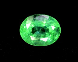 Certified 1.34 cts Super Top Quality Natural Oval Shape Cut Colombian Emera