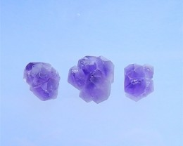 86.5ct Fashion Nugget Amethyst Cabochon 23x2x12mm  .13x2x12mm(18040330)