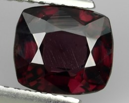 2.10  Cts GENUINE NATURAL ULTRA RARE LUSTER INTENSE RED SPINEL NR!!!