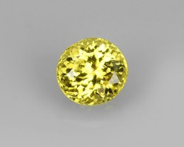 STYLISH TOP NEW RARE NATURAL ROUND YELLOW MALI GARNET
