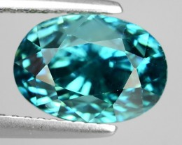 6.90  CTS-WONDERFULL SPARKLING NATURAL ~RARE BLUE COLOR~ NATURAL ZIRCON